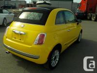 Make Fiat Model 500 Year 2012 Colour Yellow kms 143231