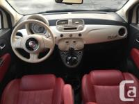 Make FIAT Model 500c Year 2012 Colour white kms 115716