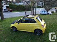 Make Fiat Model 500 Year 2012 Colour yellow kms 94000