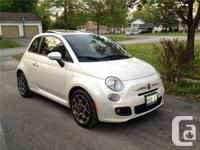 2012 Fiat 500 Sport  This car has a 5 speed manual