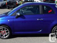 Make Fiat Model 500 Year 2012 Colour Blue kms 46048