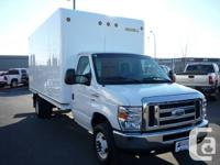 This 2012 Ford Cube Van is a 16 feet Unicell Fiberglass