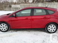 Make Ford Model Focus Year 2012 Colour RED kms 143000