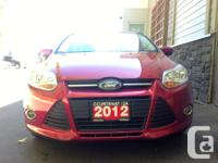 Make Ford Model Focus Year 2012 Colour Red kms 39529