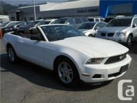 Year 2012  Make Ford  Model Mustang Convertible