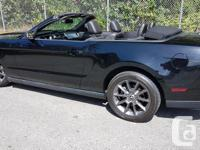 Make Ford Model Mustang Year 2012 Colour BLACK kms