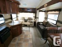 2012 FOREST RIVER ROCKWOOD 8285 FIFTH WHEEL $25,990.00