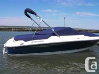 2012 Four Winns H180 3.0L Mercruiser plus trailer in