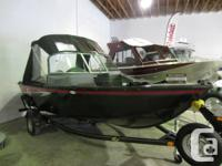 BC Outdoors Magazine demo boat, this boat was used for