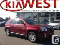 This 2012 GMC Terrain with low KM just came in and is