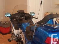 Make Honda Model Goldwing Year 2012 kms 60000 2012