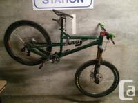 Available is my custom built 2012 Nicolai Helius AFR.