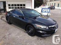 Set your sight on this stunning 2012 HONDA ACCORD COUPE