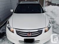 Make Honda Model Accord Sedan Year 2012 Colour White