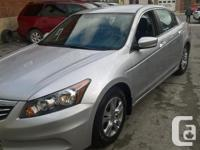 Make Honda Model Accord Year 2012 Colour SILVER kms