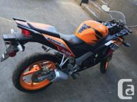 Make Honda Model Cbr Year 2012 kms 6858 Honda CBR 125R