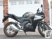 2012 Honda CBR 125R with only 2775 kms. Bought the bike