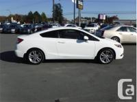 Make Honda Model Civic Coupe Year 2012 Colour White