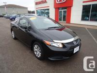 Make Honda Model Civic Coupe Year 2012 Colour Black