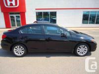 Make Honda Model Civic Year 2012 Colour Black kms