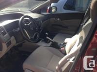 Make Honda Model Civic Trans Manual kms 64000 2012
