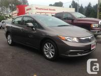 2012 Honda Civic EX Sedan   Local with no accidents!!