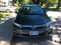 Make Honda Model Civic Sedan Year 2012 Colour Gray kms