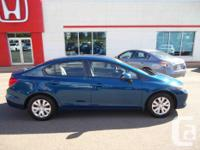 Make Honda Model Civic Year 2012 Colour Blue kms
