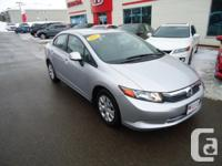 2012 Honda Civic LX Auto: This car was just traded and