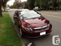 2012 Honda Civic,LX 4Doors,Sedan,Automatic,32000KM TL-
