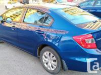 Make Honda Model Civic Year 2012 Colour Blue kms 51000
