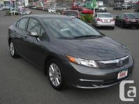 Make Honda Model Civic Coupe Year 2012 Colour Grey kms