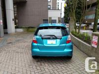 Make Honda Model Fit Year 2012 Colour Teal kms 78344