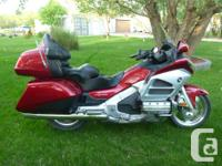 Make Honda Model Goldwing Year 2012 kms 28000 2012