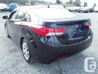 Make Hyundai Model Elantra Year 2012 Colour black kms