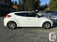 Make Hyundai Model Veloster Year 2012 Colour White kms