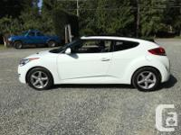 Make Hyundai Model Veloster Year 2012 Colour White kms