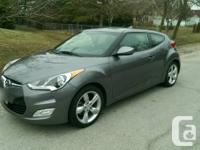 2012 Hyundai Veloster in Triathlon Grey with only 28000