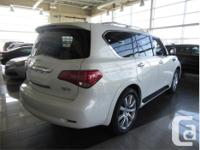 Make Infiniti Model QX56 Year 2012 Colour White kms