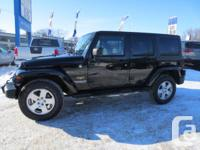 4 DOOR, AUTO, V6, ONLY 26,000 KM, BALANCE OF JEEP