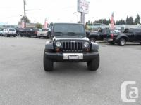 THIS GORGEOUS JEEP IS TOUGH, RUGGED AND READY TO GO! IT