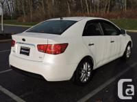 Make Kia Model Forte Year 2012 Colour white kms 96179