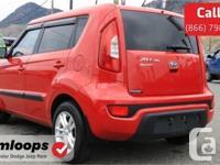 Make Kia Model Soul Year 2012 Colour Red kms 84356