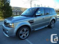 2012 Land Rover Range Rover HSE GT Limited Edition!