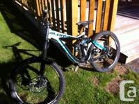 Bike is in excellent shape, new seals and also fork
