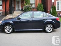 Purchased new in August 2012. Motor vehicle has