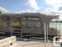 23' Legend Bayshore Lounger for sale. Comes with 90