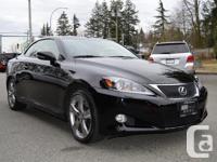 Make Lexus Model IS 350C Year 2012 Colour Black kms