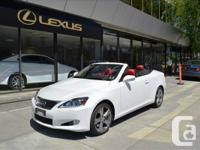 Regency Lexus  2012 LEXUS IS350C NAVIGATION SPECIAL