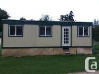 Like new furnished office trailer 10' x 34'.